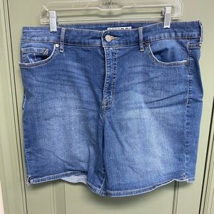 Code Bleu Stretchy Jean Shorts